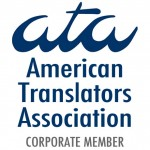 American Translators Association Corporate Member Logo