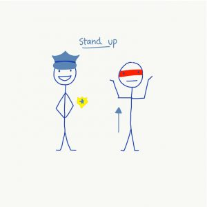 LEO Command for STAND UP